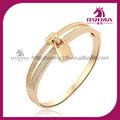 18k brazalete de oro para las mujeres