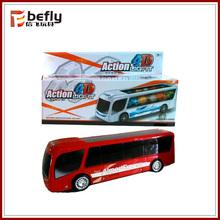 plástico 4D autobus de niño eléctrico con luz coche y carro de niño elétirco toy car hot sell