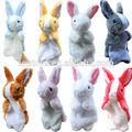 Marioneta de mano- juguete conejo, 30cm*16cm marioneta de la felpa