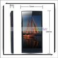Para elephone g6 5 pulgadas 4.4 android inteligente teléfono octa- núcleo con lector de huella digital estándar de la ue negro