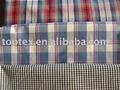 Hilo algodón 100% teñidos controles de paño de tela