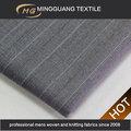 Chine fabricant d'usine des jeunes hommes convient laine à rayures concevoir votre propre tissu