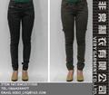 moda algodão chino calças jeans reta mulheres casual calças chinos