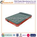 PVC flocado doble tamaño cama de aire