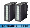 Wecon 4 punto de salida analógica del plc módulo precio modesto y compatible con siemens s7-300 plc módulo