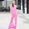 YIGELILA 2013 Chicas moda traje rosa 5118