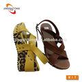 venta al por mayor 2014 china plana zapatos de suela gruesa para las mujeres