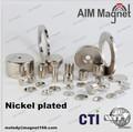 imán para horno de microondas industrial n52 magnetrón de imán de neodimio