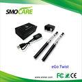 La torsión del ego C/el E-Cigarrillo 3.0-4.8v de la torsión del EGO, ningún Burning prueba