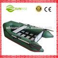ripas de pvc inflável lago barcos