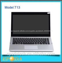 13 táctil de la pulgada ordenador portátil 8 ventanas wifi bluetooth cámara mejor compra del ordenador portátil