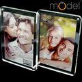 especial de importação combinação de acrílico foto moldura tabela 6 polegadas dupla face moldura de foto digital