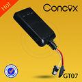 Gps libres del perseguidor de GPRS que siguen software con el mapa del google Concox GT07