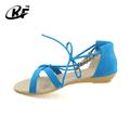 Baratos al por mayor sandalias, sandalls romana, bajo el talón sandalia