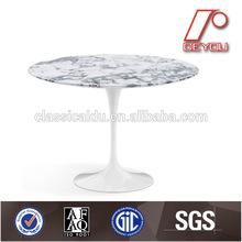 Mesa de la sala, mesa de mármol, el cuadro tulipán