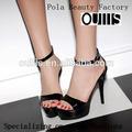 Beauté pola oem usine de chaussures haut talon sandales chaussures femmes n-hp801