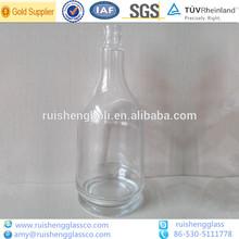 decorativos 500ml licor claro botella de vidrio