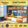 El último 8815a/b cama doble de diseño de muebles para niños en camainfantil fábrica de muebles