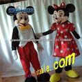 Mickey y Minnie traje de la historieta del ratón