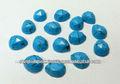 Natural Turquoise pera piedra tallada en forma de