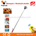 Trípode profesional inalámbrico legoo monopod selfie inalámbrico stick monopod legoo selfie palo/legoo teléfono móvil monopod