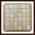 de color beige piedra de pizarra del mosaico