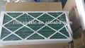 panel de los pliegues del filtro para la industria hvac