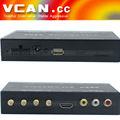 Coche isdb- t completo de un segmento b-cas mini tarjeta de isdb- t7800 cable digital de caja