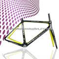 2013 excelente diseño de carbono de bicicletas de carretera, carretera bicicleta de carbono marco bb30/bsa