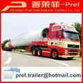 especial reboque tipo de equipamentos de energia eólica lâmina de vento reboque de transporte para venda