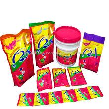 Fórmula detergente de lavandería en polvo