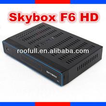 caja de sky hd receptor de satélite skybox f6 original