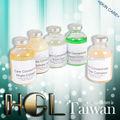 de vidrio de cosméticos faciales de ácido hialurónico ampolla