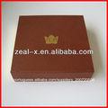 novo design de luxo de alta qualidade cartão de natal dourada caixas de chocolate com fecho magnético