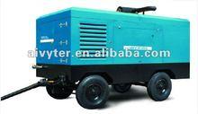 estacionario del motor diesel alimentado de aire del compresor cfm