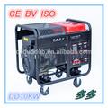 De gran alcance más calientes& 10kw semicerrado generador para la venta