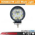venta caliente 27w led de luz de trabajo para el carro