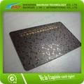 de plástico tarjetas de fidelización de impresión