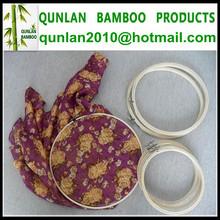 3''- 12'' de bambú artesanía punto de cruz bordado aro