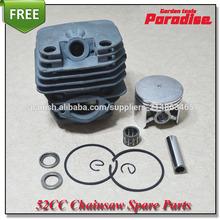Herramientas de jardinería 5200 motosierra/sierra cadena 45mm cilindro conjunto