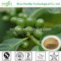 etiopía verde puro arábica coffee bean extracto de la cápsula