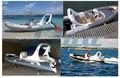 Liya 6.2 metros china inflable rib barcos para la venta