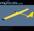 Vector 2.36m iii rc avión en carbono y fibra de vidrio, rcrcm