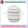isolador de porcelana cerâmica marrom spool de excelentes de cor branca