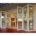 Nuevo diseño de 6 paneles de alta calidad acordeón puertas plegables