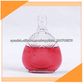 250ml botellas de licor de cristal al por mayor