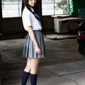 la última japonés falda de uniforme escolar