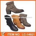 la moda de espesor botas de tacón para las mujeres
