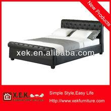 2013 moderno marco de metal barato camas para la venta