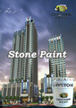 Anti mold Natural stone paint acrylic wall paint with competitive price